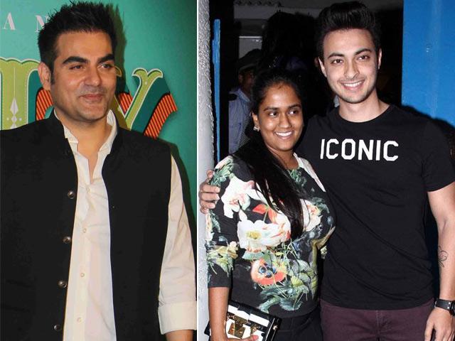 Arpitas Husband Aayush Sharma Wants To Act, Says Arbaaz Khan