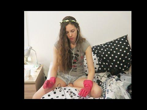 ASMR Ear Scrub And Ear Massage Spa - Whispered, Rubbing, Gloves