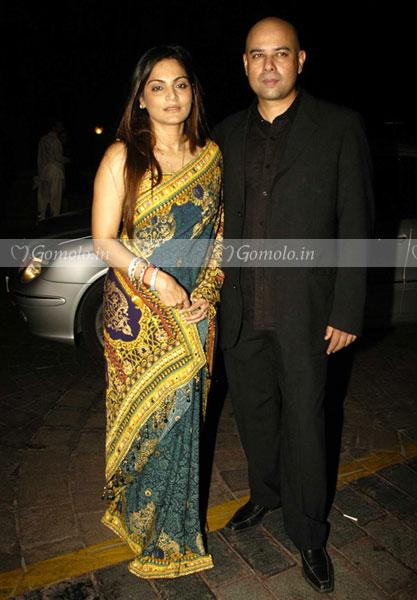 Atul Agnihotri With Wife Alvira Khan At Laila Khan And Farhan