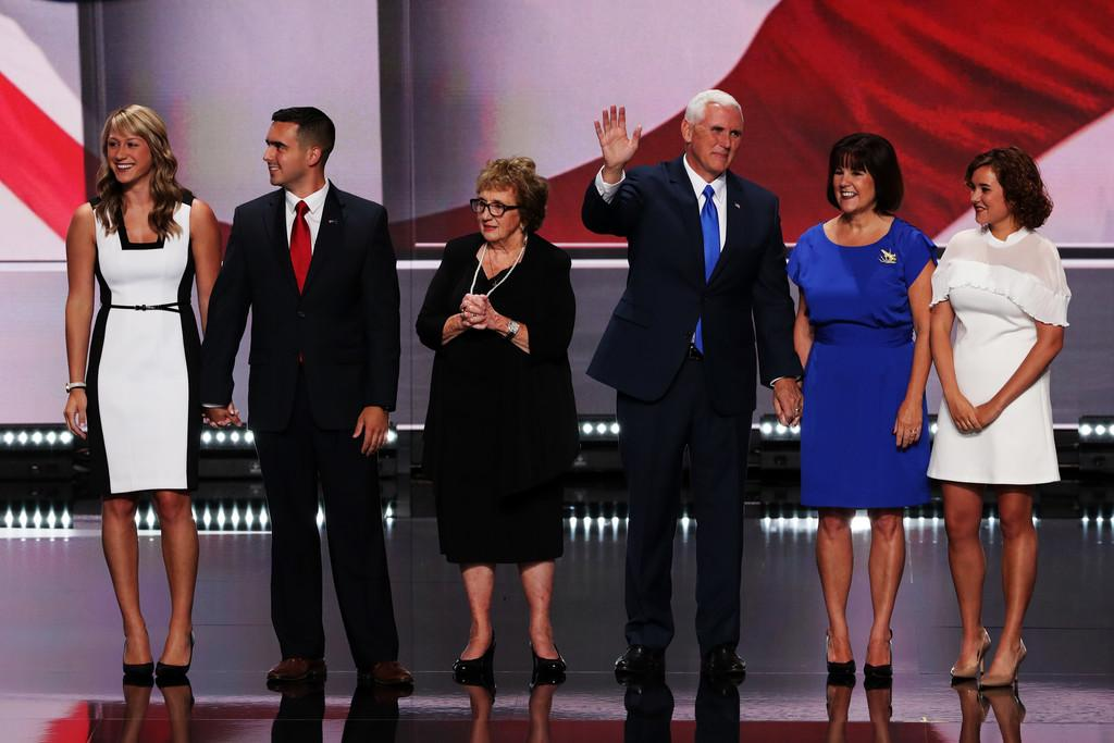 Audrey Pence Pictures Republican National Convention: Day Three -