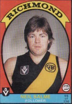 Australian Football - Neil Balme - Player Bio