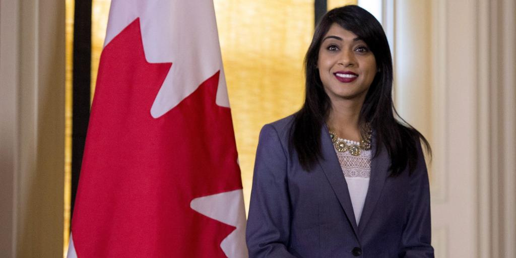 Bardish Chagger, Rookie Cabinet Minister, Promoted To Government