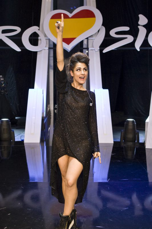 Barei To Represent Spain In Stockholm!   News   Eurovision Song