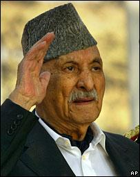 BBC NEWS   South Asia   Former King Of Afghanistan Dies
