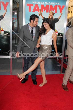 Ben Gleib And Monica Barbaro     Stock Editorial Photo    S_bukley