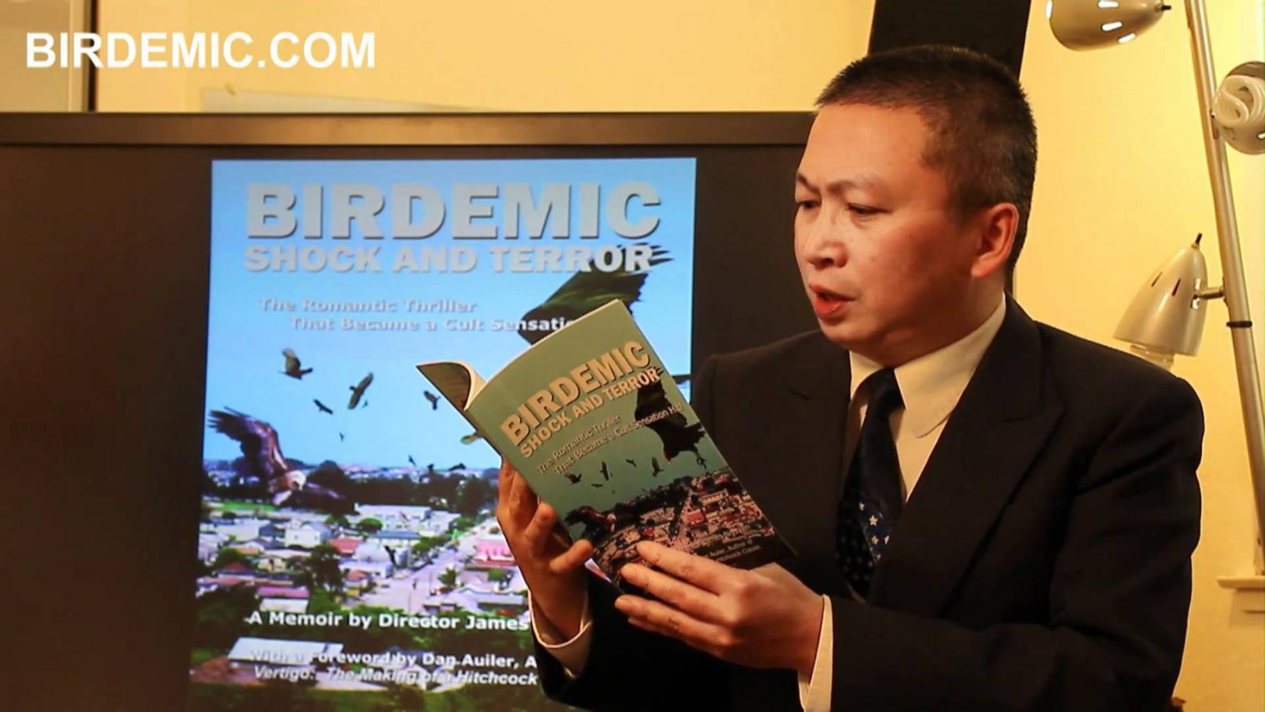 Birdemic Memoir - Book Reading By Director James Nguyen - YouTube