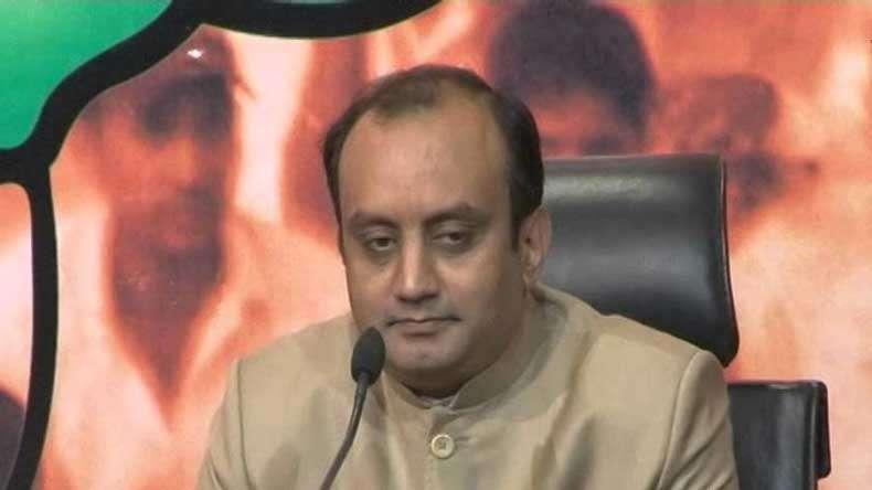 BJP's Sudhanshu Trivedi Makes A Poetic Jibe Over Rahul Gandhi's Bank