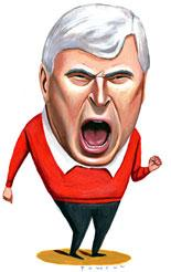 Bob Knight, College Basketball's Wicked Stepfather.