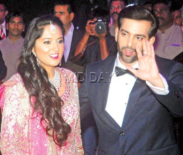 Bollywood Stars Descend At Kush Sinha's Lavish Wedding Reception