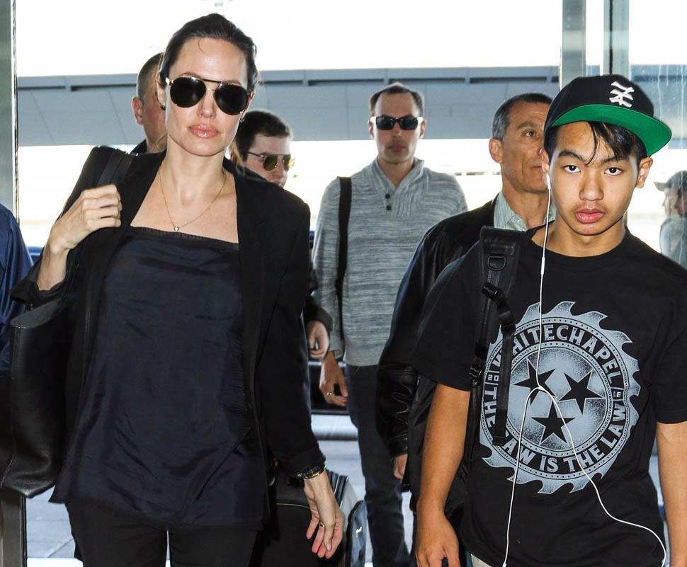 Brad Pitt & Angelina Jolie's Son, Maddox, Is Definitely A Metalhead