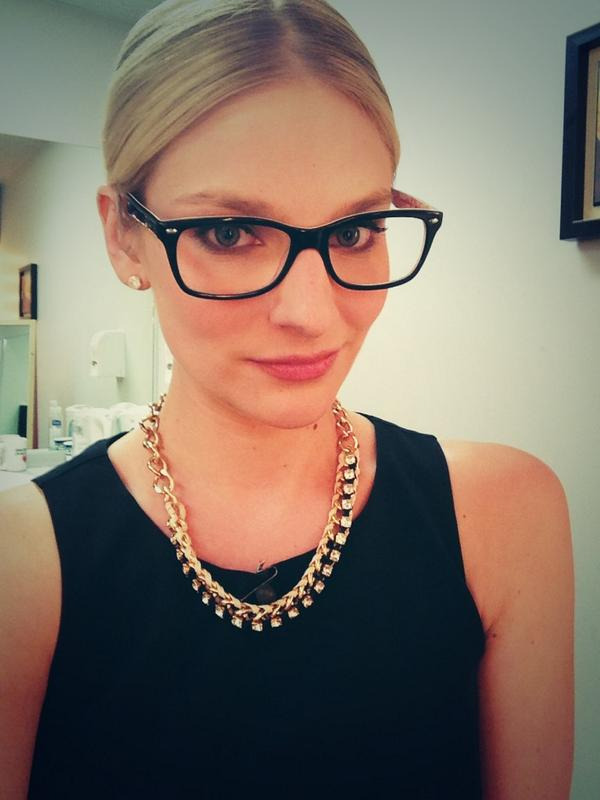 """Brenna Rose On Twitter: """"Testing Out My New Glasses @ctvedmonton"""