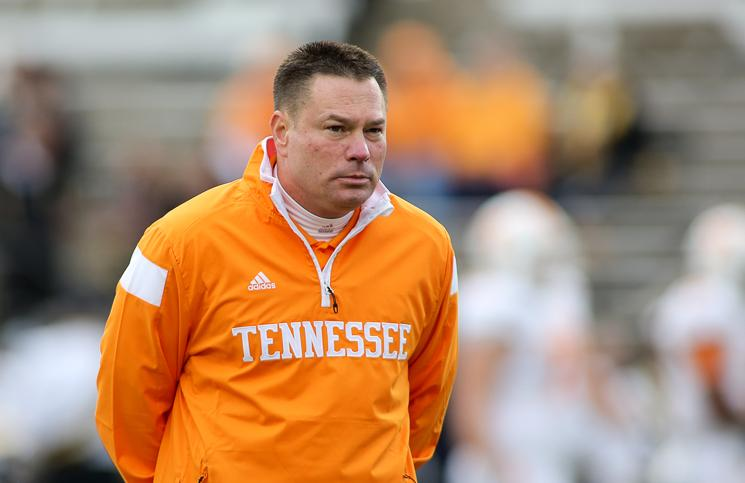 Butch Jones Wants The Vols To Be 1% Better   Rocky Top Insider
