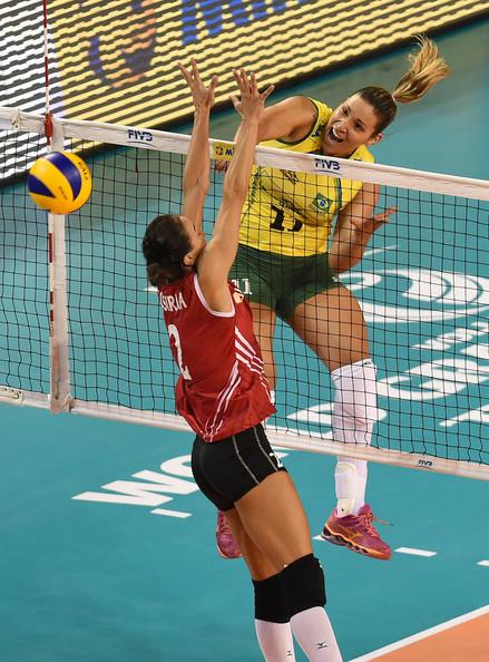 Caixeta Tandara Pictures Turkey V Brazil -