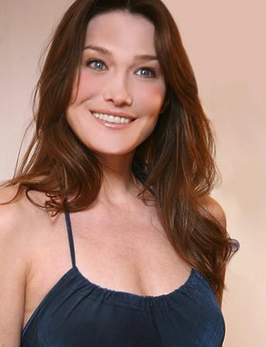 Celebrities Lists. Image: Carla Bruni; Celebs Lists