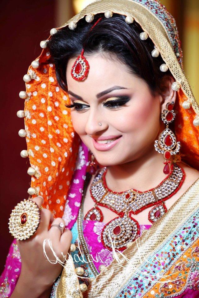Celebrity Weddings: Javeria Abbasi Wedding Pics