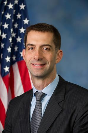 Chair Of The Imbecile Caucus: Sen. Tom Cotton Proudly Stands At The