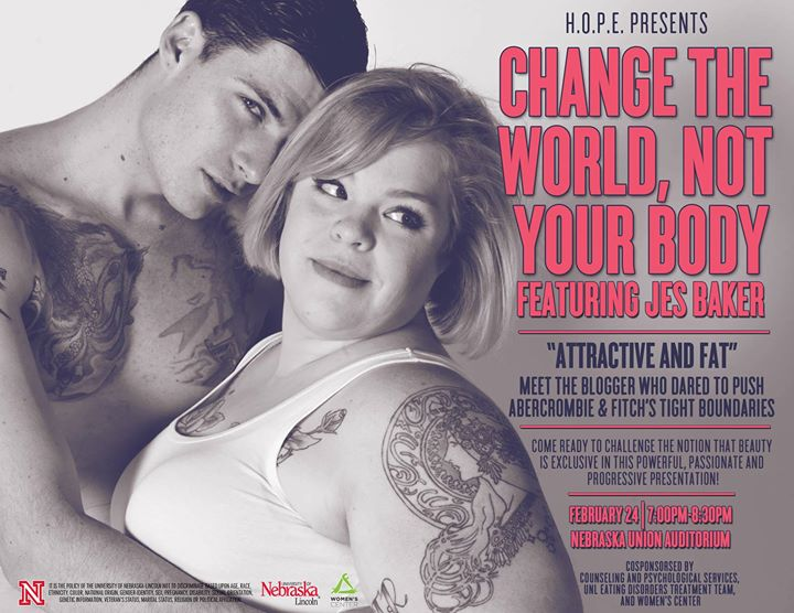 Change The World, Not Your Body With Jes Baker, AKA The Militant