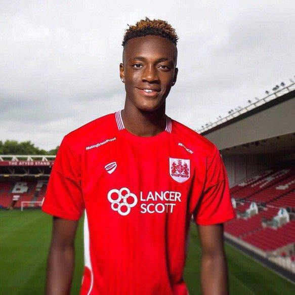 Chelsea's Tammy Abraham Scores On His Bristol City Debut (Official