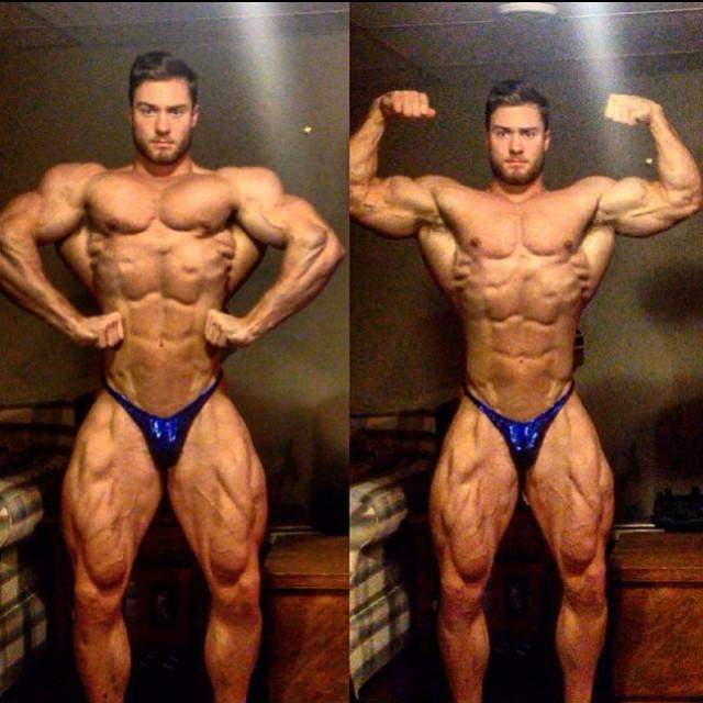 Chris Bumstead Before Canadian Nationals - 20 Yrs Old!!!