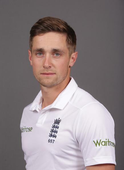 Chris Woakes Photos Photos - England & Sri Lanka Nets Portrait