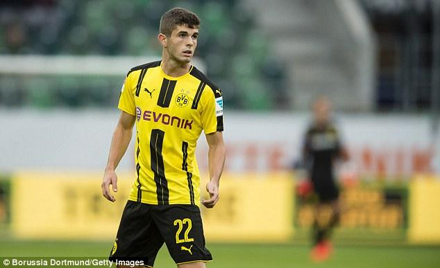 Christian Pulisic Contemplating A Borussia Dortmund Exit Amid