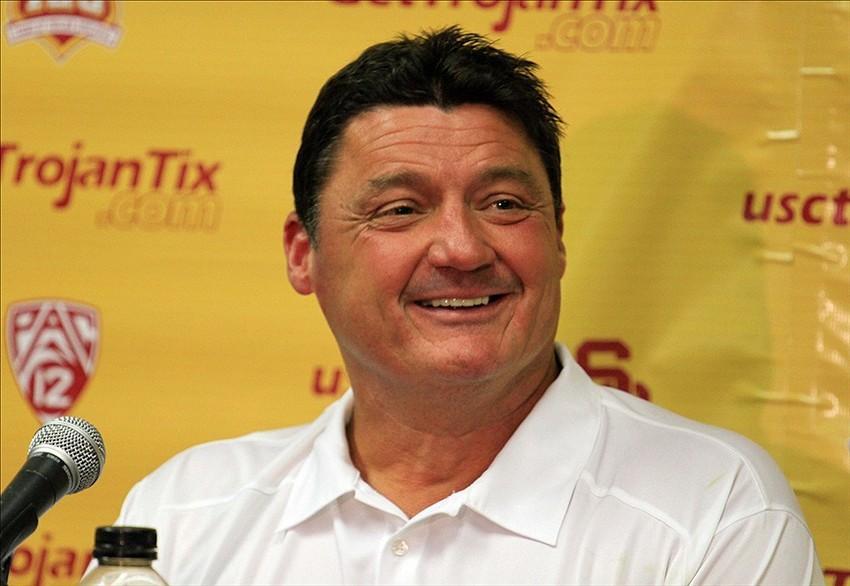 College Football Rumors: Ed Orgeron To Coach Defensive Line At Alabama?