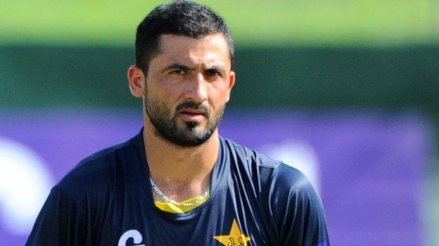 Cricket World Cup 2015: Junaid Khan Out Of Pakistan Squad - BBC Sport