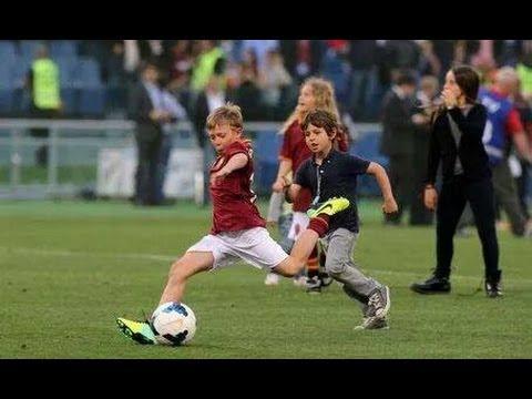 Cristian Totti Skill, The Next El Capitano AS Roma - YouTube