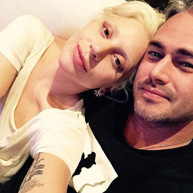 Cute Lady Gaga And Taylor Kinney Pictures   POPSUGAR Celebrity