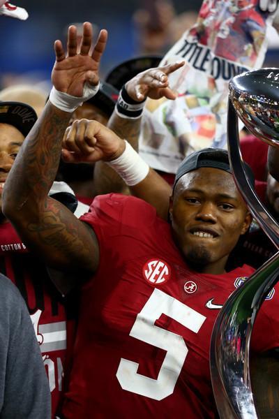 Cyrus Jones Pictures Goodyear Cotton Bowl - Alabama V Michigan State -