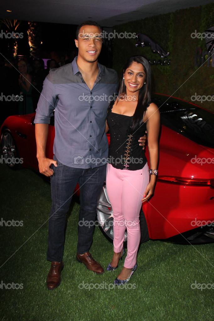 Dale Moss And Seema Sadekar     Stock Editorial Photo    S_bukley