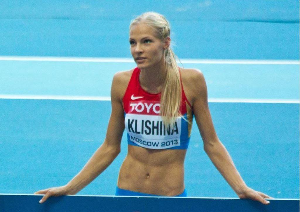 Darya Klishina                                                   2013 12v IAAF Moscow WC August 11th (2