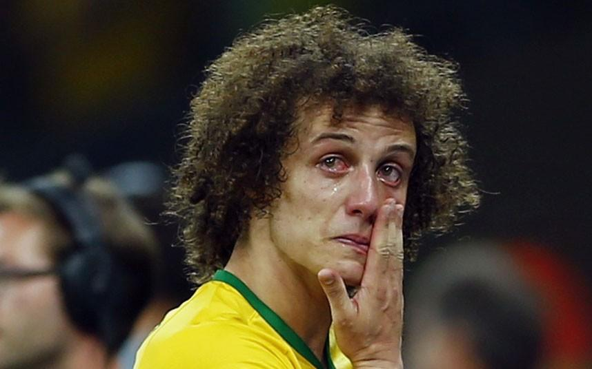 David Luiz Apologises To The Whole Country Of Brazil After 7-1 World