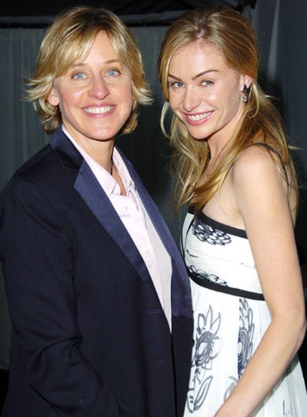 December 1, 2004   Ellen DeGeneres And Portia De Rossi's Road To