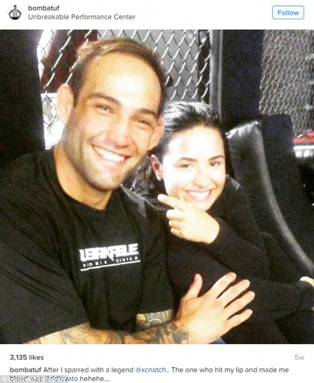 Demi Lovato 'had A Quick Fling' With MMA's Guilherme 'Bomba
