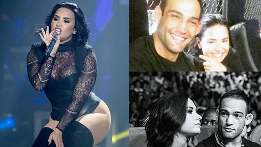 Demi Lovato: Knocking Da Boots With Guilherme Vasconcelos?