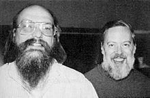 Dennis Ritchie and Ken Thompson Photo