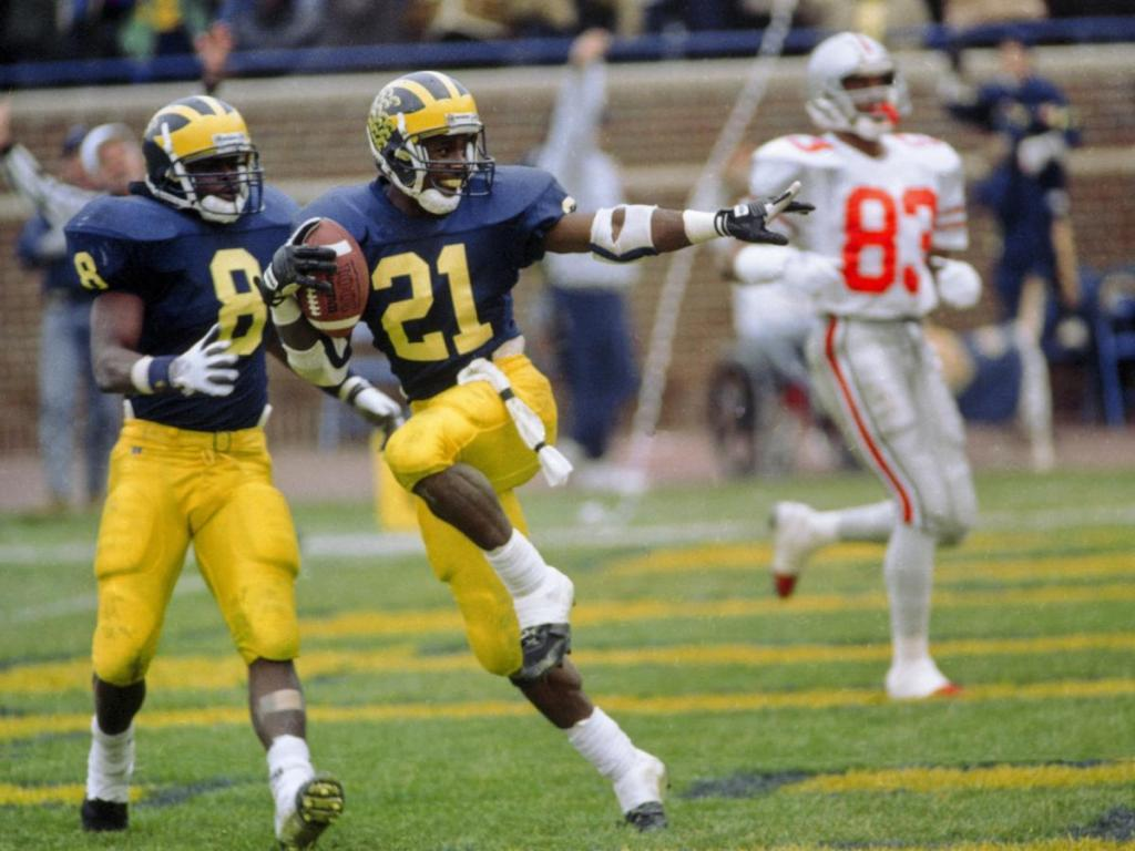 Desmond Howard Biography College Career Michigan Heisman Trophy Hall