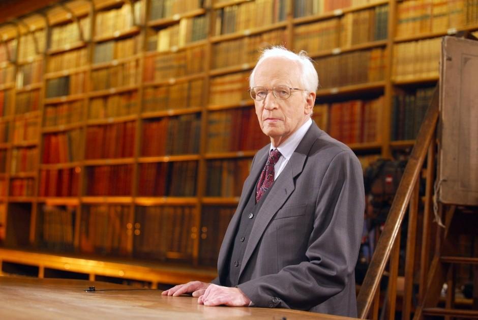 Deutscher Historiker Ernst Nolte Mit 93 Jahren Gestorben