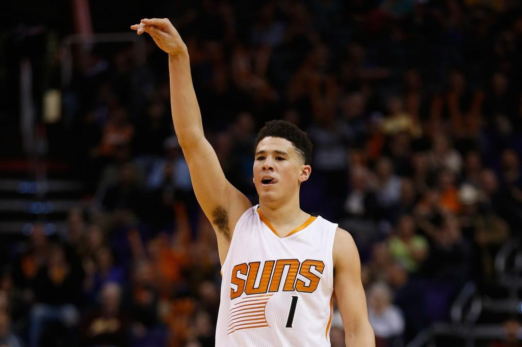 Devin Booker: Sun Catching Fire- Sports From The Basement