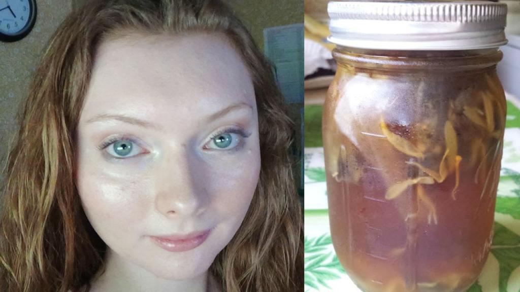DIY Herbal Facial Toner   ACNE   REDNESS - YouTube