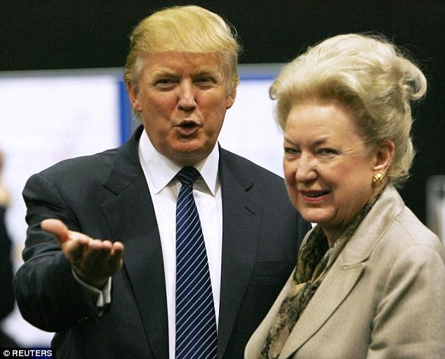 Donald Trump's Sister Maryanne Gets Threatening Letter After Son