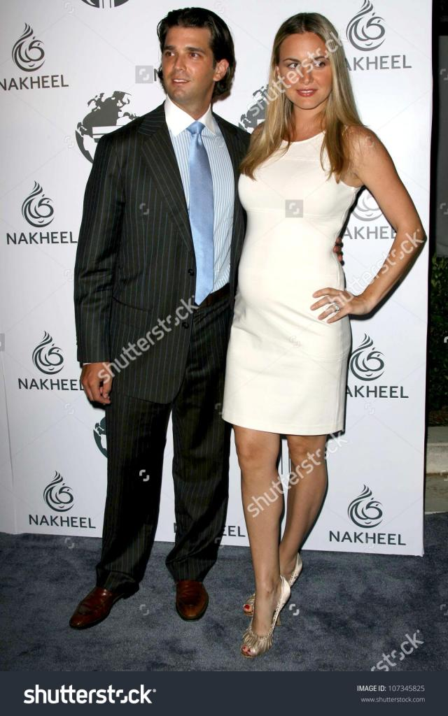 Donald Trump Jr. And Vanessa Haydon At A Party To Introduce The