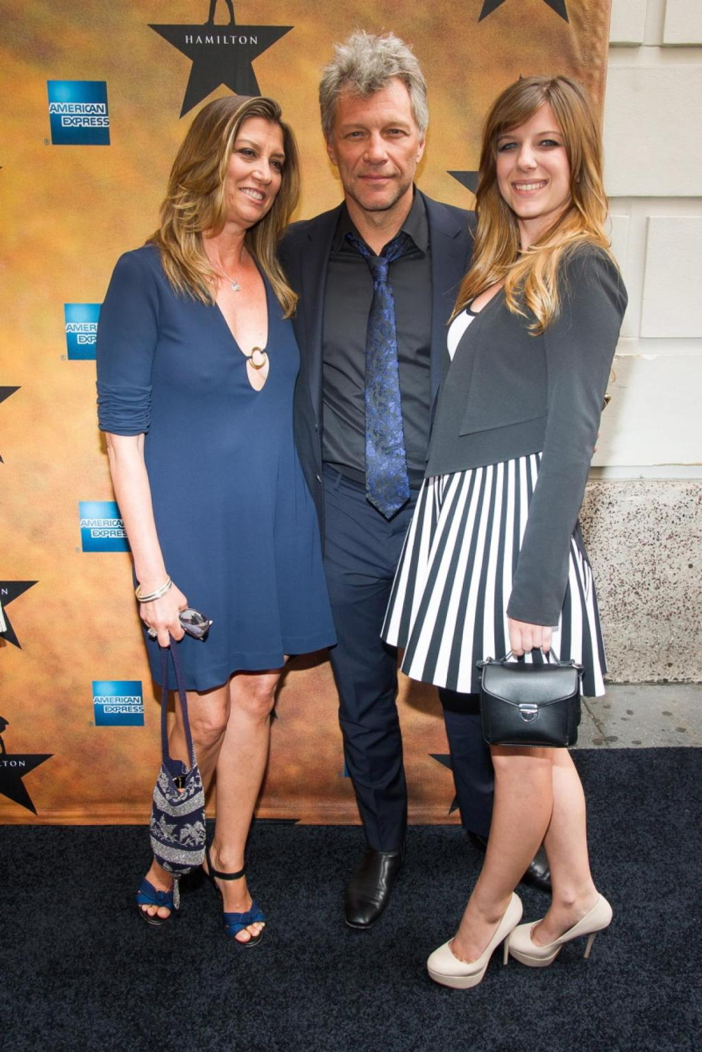 Dorothea Hurley, Jon Bon Jovi And Stephanie Rose Bongiovi - Photos