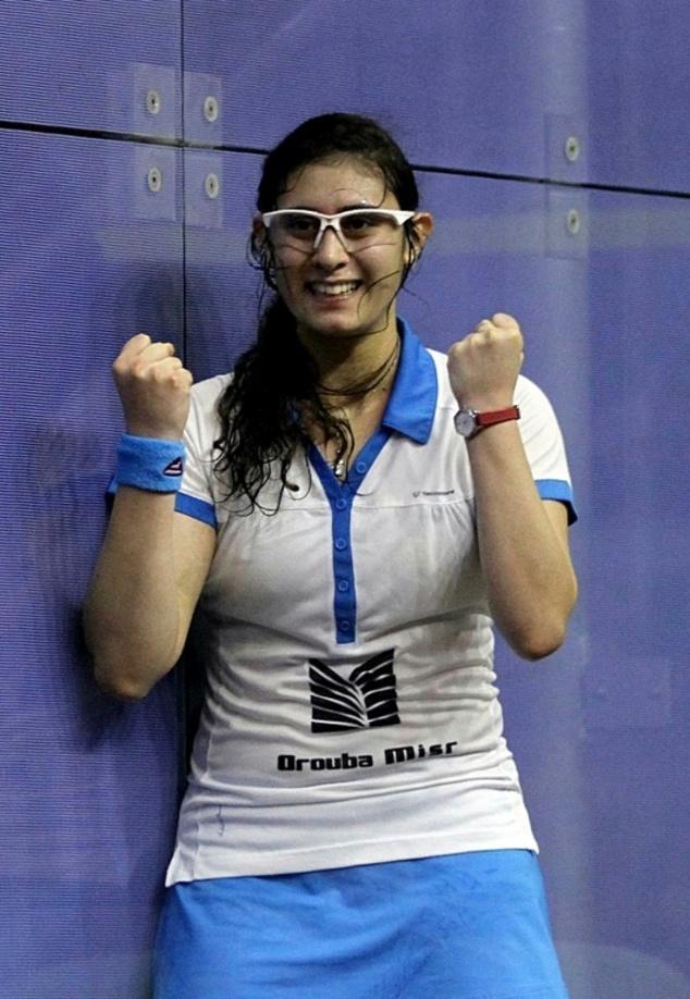 Egypt's El Shorbagy, El Sherbini Take British Open Squash Titles