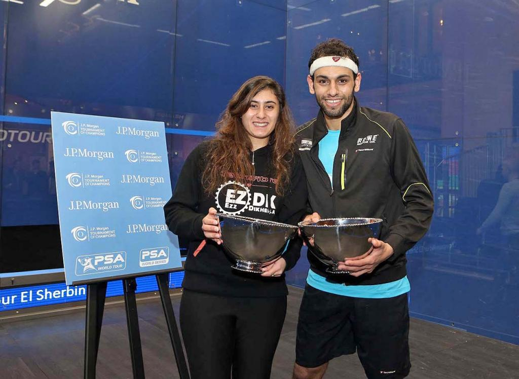 Egypt's Nour El-Sherbini Becomes Youngest Ever New York Squash