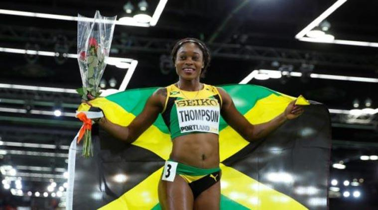 Elaine Thompson Clocks 10.71 In Kingston Wind   The Indian Express