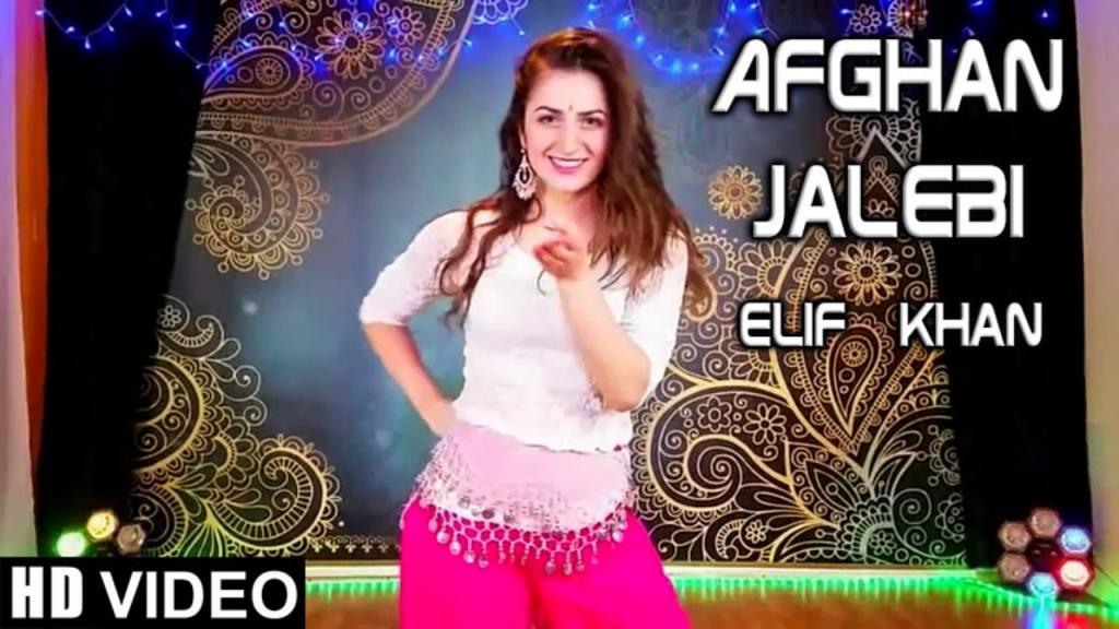 Elif Khan Beautiful Girl Dance On Afghan Jalebi Song - Video