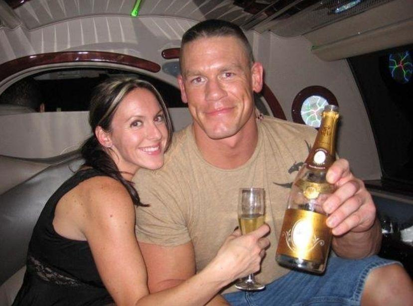 Elizabeth Huberdeau First Gets Blindsided By John Cena