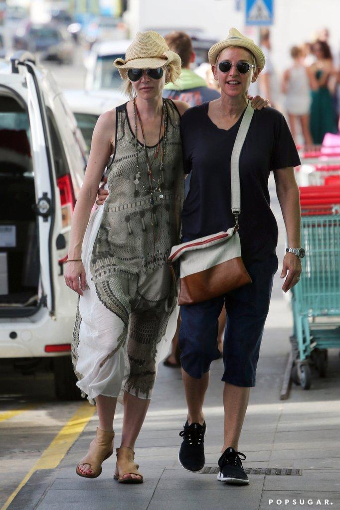 Ellen DeGeneres And Portia De Rossi In St. Barts 2015   POPSUGAR